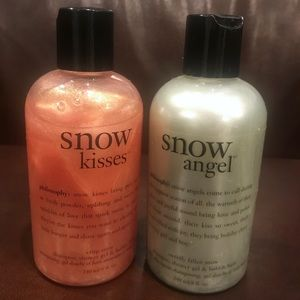 Philosophy Snow Kisses & Snow Angel Shower Gel NEW